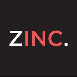 zinc designs - freelance graphic and web designer - logo