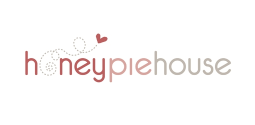 zinc designs - honey pie house logo