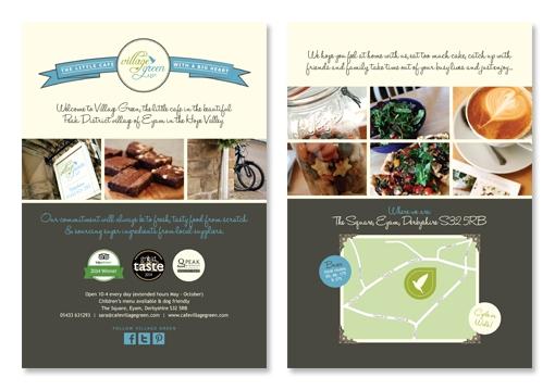 zinc designs - village green flyer