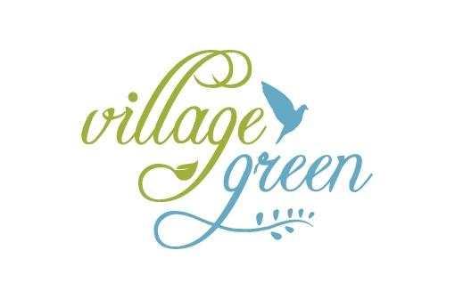 zinc designs - village green logo