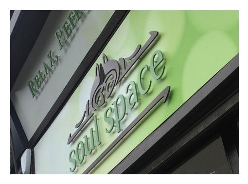 zinc designs - soul space signage 01