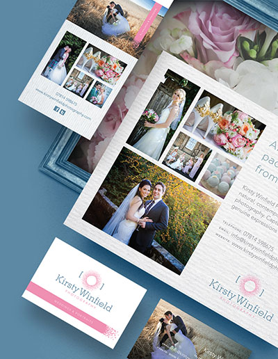 zinc designs - freelance graphic and web designer - kirsty winfield